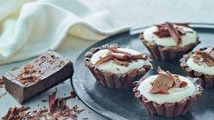 Cappuccino-tærter med chokolade | Femina