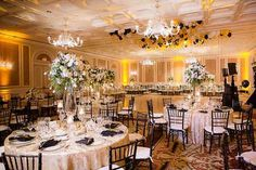 Glitz and Glam New Year's Eve California Wedding - MODwedding
