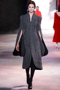 FALL 2013 COUTURE  Ulyana Sergeenko    Maybe just alright, after deeper scrutiny