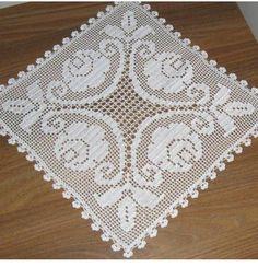 Crochet Poncho, Chrochet, Filet Crochet, Crochet Tablecloth, Crochet Doilies, Crochet Carpet, Crochet Blocks, Cross Stitch Flowers, Diy Arts And Crafts