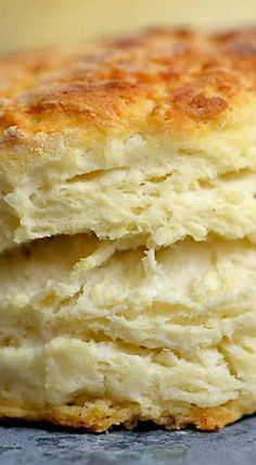 Three Ingredient Buttermilk Biscuit