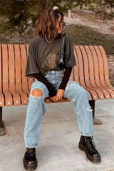 Teen Fashion Outfits, Mode Outfits, Retro Outfits, Cute Casual Outfits, Look Fashion, 90s Fashion, New Outfits, Summer Outfits, Girl Outfits