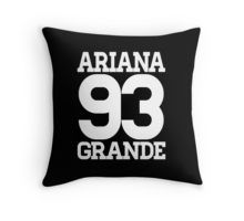 ariana grande Throw Pillow