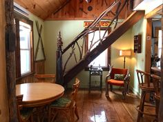 Artful interior design at Sticks and Stones, an Upstate NY vacation rental.