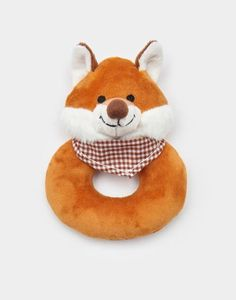 """""""Why hello Mr Fox, you're looking rather dapper"""" - Tiny Human would love to play with this, although I fear Mr Fox wouldn't stay dapper for long... • Joules UK RATTLE Baby Toy Fox"""