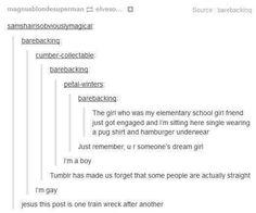 Train wreck tumblr post
