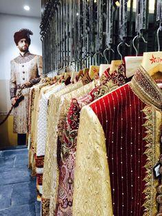 """#IndianWedding Groom's """" #Sherwanis by Mewar, Jaihind """""""