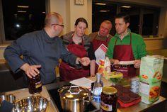 Genieten van een kookworkshop samen met collega's, vrienden,...