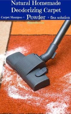 Limpieza de alfombras con polvos caseros. Polvos de alfombras son excelentes para eliminar el olor y tener olor agradable casa. Algunos de ellos, sin embargo, pueden ser perjudiciales para los animales domésticos. Un polvo alfombra más natural: biscarbonato de sodio + aceite esencial