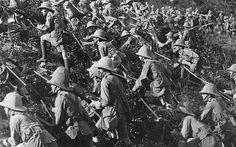 British soldiers. Gallipoli