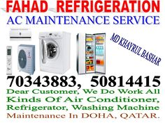 A/c, Fridge, Washing Machine Repair, Maintenance Service &0343883