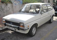 1976 - 1983 Ford Fiesta MK1 first generation.