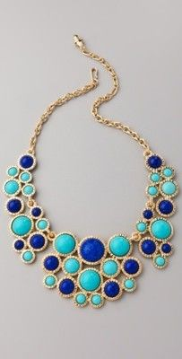 love turquoise and gold!