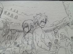 From @hiro_mashima on Twitter [Creator of Fairy Tail] Erza