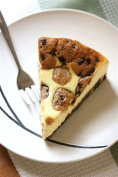 cookie dough cheesecake..must try this recipe