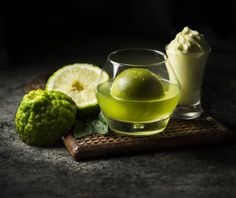 A striking cocktail on offer at Ping Pong in Wembley, north-west London, made with yuzu, sake and matcha green tea, called the Jun Yuzu Martini.