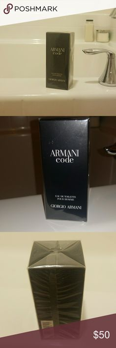 Armani Code Pour Homme NIB 50ml Armani Code EDT Mens Cologne 50 ml (not Exchange) Unopened and No Damage - New In Box/Sealed Packaging. (Has 5 Star Rating on Ulta...100%) Armani Exchange Other