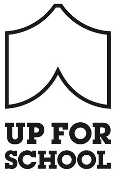 New Logo and Identity for Up For School by The Partners