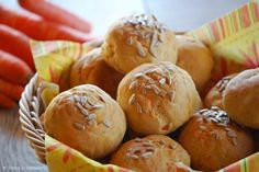 Patce's Patisserie: Leckere Möhrenbrötchen zum Osterfrühstück
