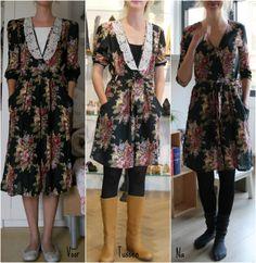 Cleolidewij - Vermaakte vermaakte jurk