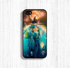 Little mermaid case Little mermaid phone case by AlinaCase on Etsy, $9.99 - FAV. So pretty