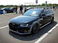 Waterfest 20 Slammed Audi Allroad by Mind Over Motor, via Flickr