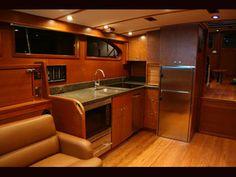 Great Boat Interior. Nice For Custom Motorhome.