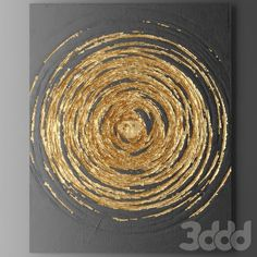 Pin by Vyomini on paper artwork Texture Art, Texture Painting, Acrylic Painting Canvas, Canvas Art, Acrylic Art, Art Painting Tools, Painting Lessons, Diy Painting, Gold Leaf Art