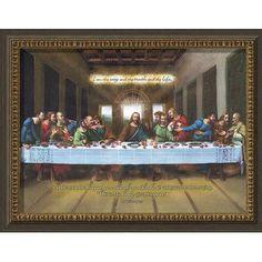 Carpentree Biblical 'I Am The Way' Textual Art on Canvas