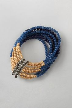 Wood Bead Stretch Bracelet