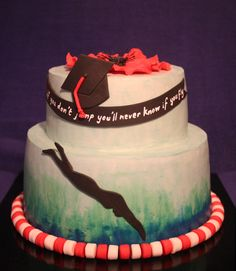 Graduation hazelnut cake with chocolate ganache and chantilly cream filling  http://passionecupcakes.blogspot.it/