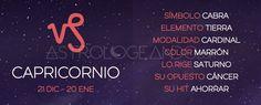 Capricornio: Características #Astrología #Zodiaco #Astrologeando #Capricornio