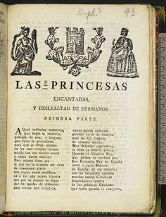 Las princesas encantadas y deslealtad de hermanos : primera parte.