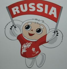 Cheburashka - A Russian cartoon character, legend and now Olympic Mascot
