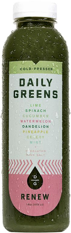 Daily Greens creates cold pressed juices for healthy living - and they are YUM! @Drink Daily Greens