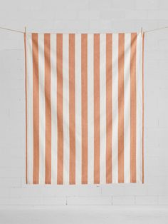 Wide Stripe Tablecloth