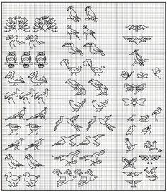 Gallery.ru / Фото #10 - The Omnibook of Winged Things - Los-ku-tik birds