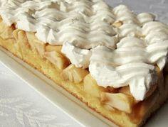 Citromhab: Habos almás sütemény