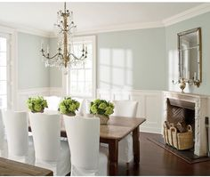 Dining Room ColorsBlue Dining RoomsFormal Living RoomsBlue RoomsBedroom  ColorsDining Room TablesDining SetDinning Room IdeasFrench Dining Rooms