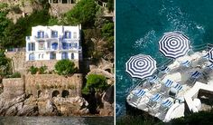 A beautiful family-run hotel with rooms over-looking the sea. Access to the crystal clear water is by way of stone steps cut into the rocks, where you can also lounge under sun umbrellas.