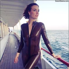 Latex Swimsuit Material, Latex Catsuit, Skin Tight, Swimsuits, Swimwear, Ibiza, Cool Pictures, Sexy Women, Pure Products