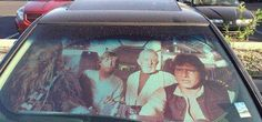 Star Wars Windshield Sun Reflector. This is hysterical!