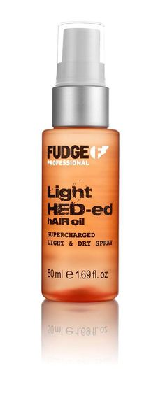 Fudge Professional Light HED-ed Hair Oil Spray 50ml.