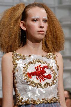 Schiaparelli SS16 Couture Vogue