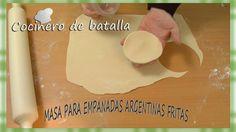 Masa+para+tapas+de+empanadas+fritas