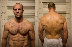Jason Statham's workout routine and mentality when training.  Great information - and a great physique.