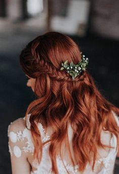 Loose Hairstyles, Bride Hairstyles, Hairstyles Videos, Hairstyles 2018, Bridal Braids, Bridal Hair, Casual Wedding Hair, Elegant Wedding, Homecoming Hairstyles