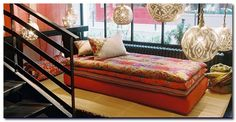 layered daybed