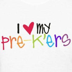 my pre-k'ers | Teacher T-Shirts