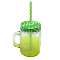 MASON JAR IN GREEN GRADIENT - Shop online at Candylicious! International shipping available. Dessert | Gifts | Cupcake | Kitchen | Candy